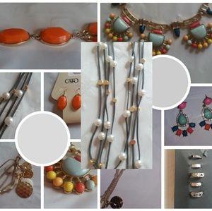 5 sets of fashion jewelry